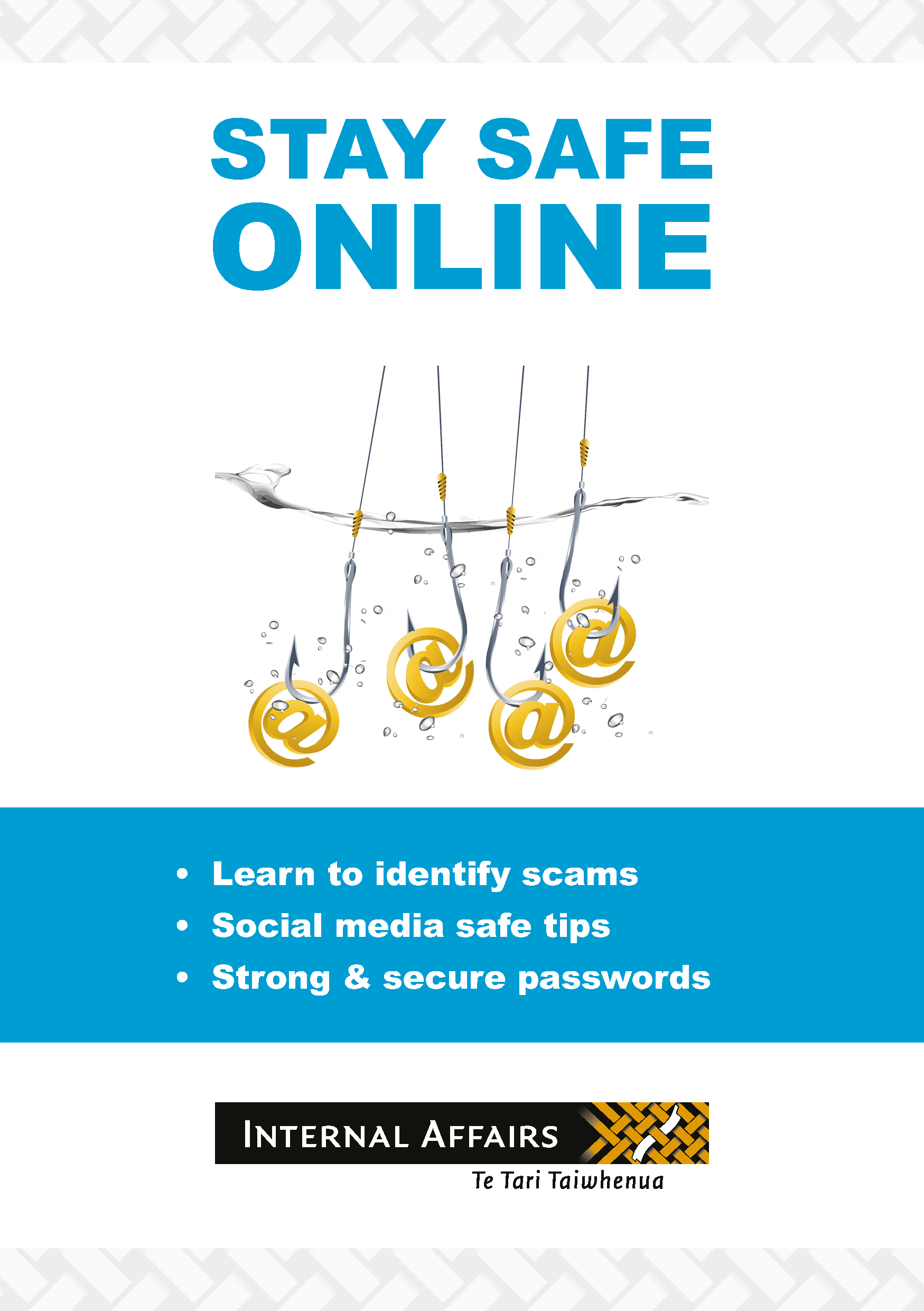 Thumbnail image of the 'Stay safe online' booklet
