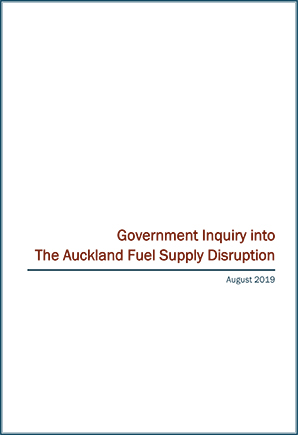 Government Inquiry into The Auckland Fuel Supply Disruption - June 2019 (link to HTML version)