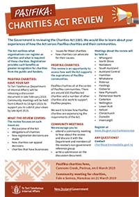 Pasifika engagement flyer