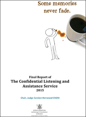 cover of Some Memories Never Fade - Final Report of the Confidential Listening and Assistance Services