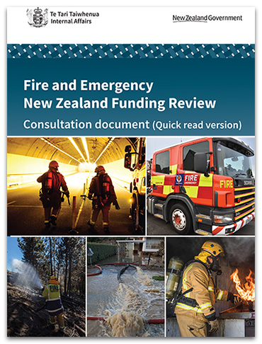 Fire and Emergency Funding Review Quick Read Consultation Document (PDF, 5.2MB)