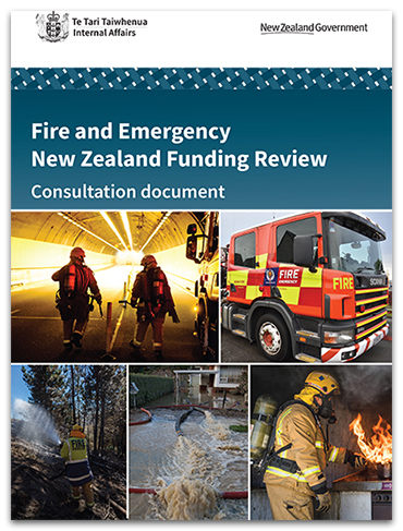 Fire and Emergency Funding Review Consultation Document (PDF, 5.4MB)