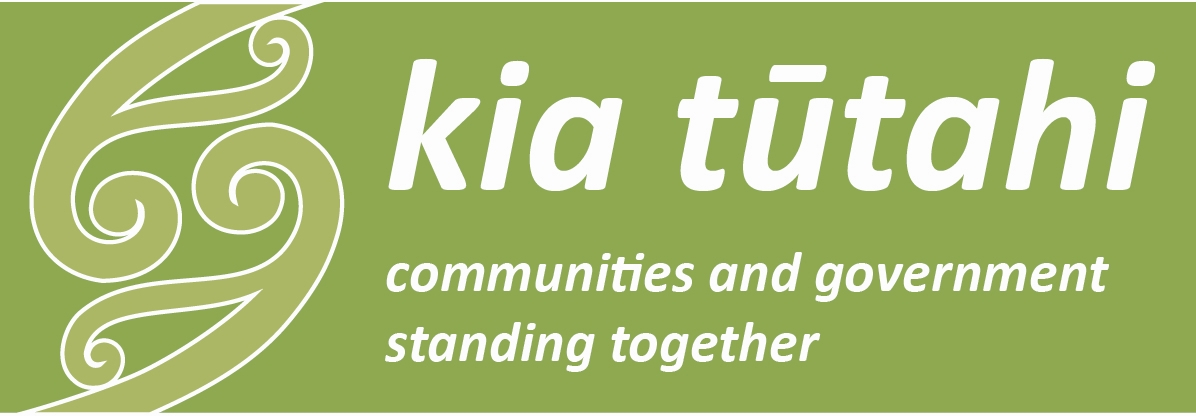 The Kia Tūtahi - communities and government standing together
