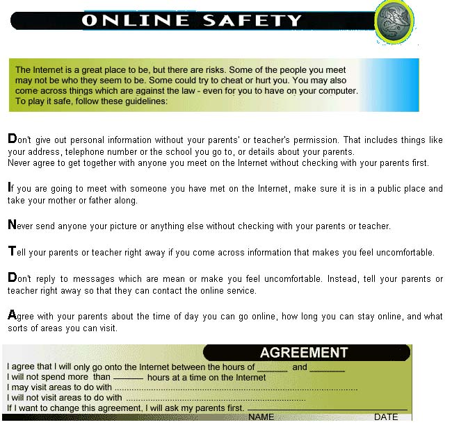 Thumbnail image of the Online Safety Guidelines