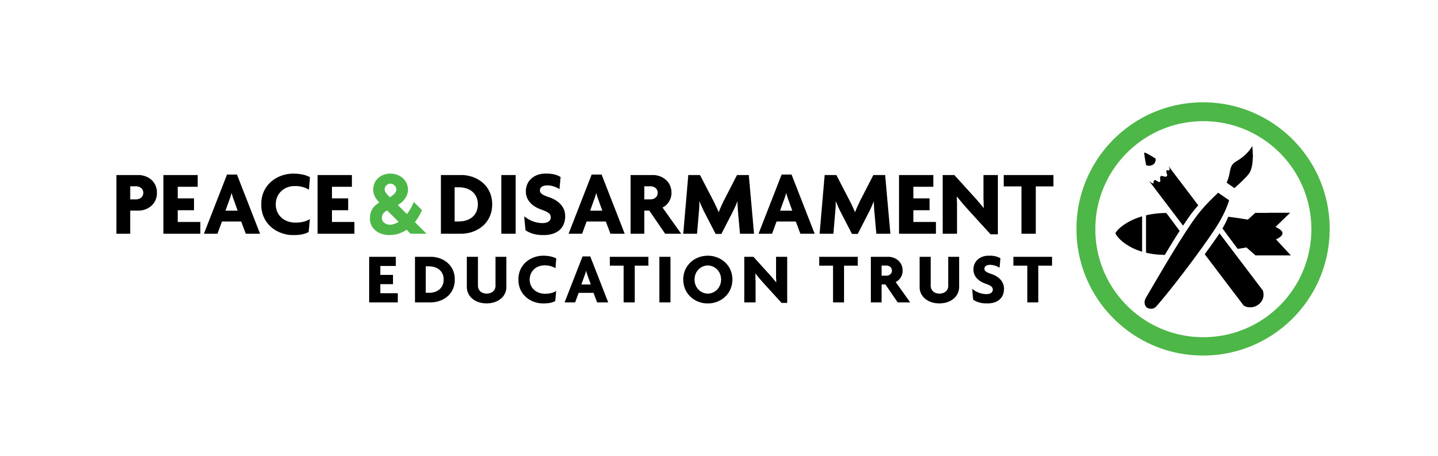 Peace and Disarmament Education Trust logo