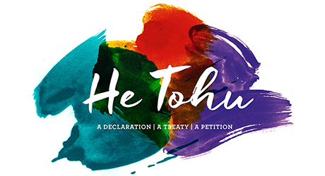 He Tohu - logo for the Archive Exhibition Project