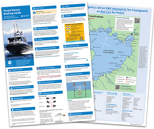 Boating guide thumbnail image of brochure