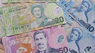 New Zealand $10, $20 and $50 bank notes