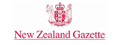 New Zealand Gazette banner logo