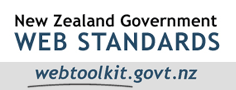 New Zealand government web standards webtoolkit.govt.nz