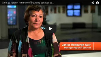 Thumbnail image of the 'What to keep in mind when providing services to Māori' video for YouTube